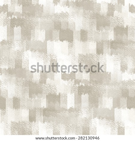 white background, grain texture, abstract cubes, seamless pattern - stock photo