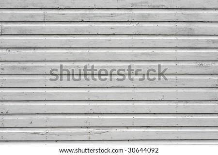 White barn background - stock photo