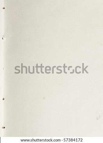 White blank fiber paper - stock photo