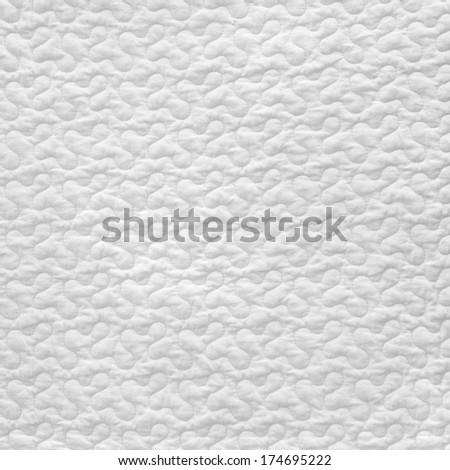 white blanket - stock photo