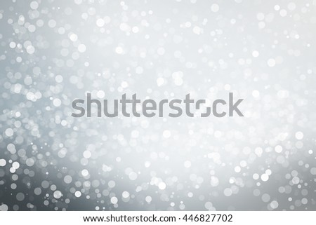 white blur bokeh abstract background. christmas blurred backdrop wallpaper. Abstract holiday background. beautiful shiny Christmas lights. abstract background with a white Light silver