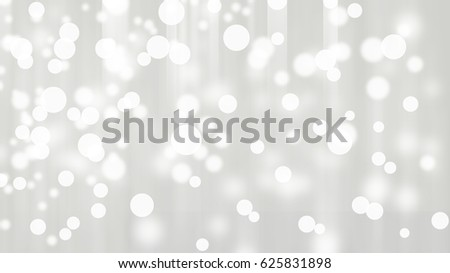 White Bokeh Abstract Light Background Wallpaper