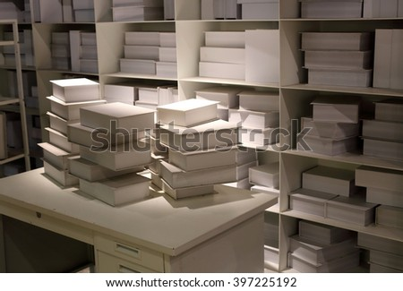 white books on shelf backgrond