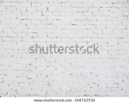 white brick wall for grungy backgrounds and writing over