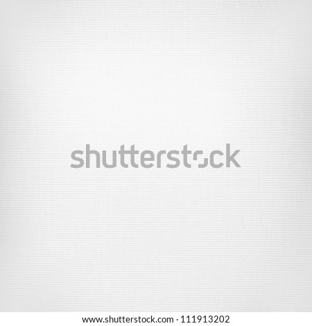 white canvas texture, linen paper background - stock photo
