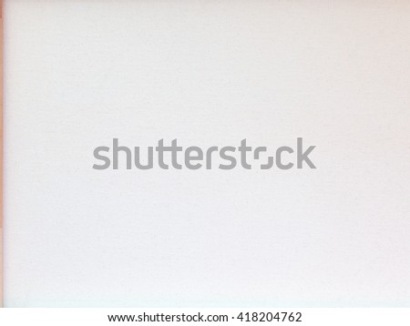 White canvas textured background with frame. Clean copy space background - stock photo
