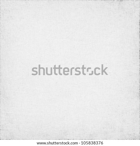 white canvas with delicate grid to use as grunge background or texture - stock photo