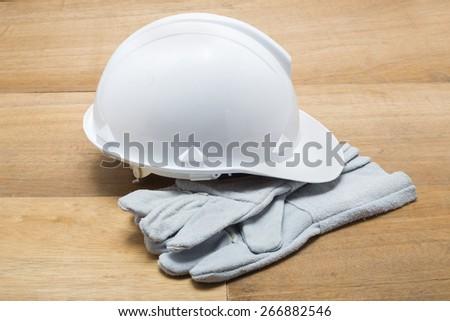White Cap Construction - stock photo