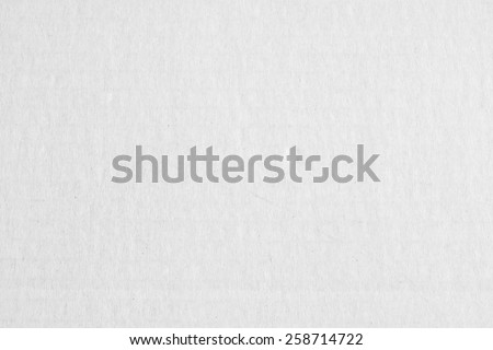 White cardboard texture background (horizontal) - stock photo