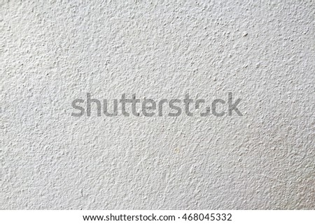 White cement wall is plaster rough style background