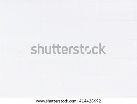 White ceramic tile wall in bathroom for texture and background - stock photo