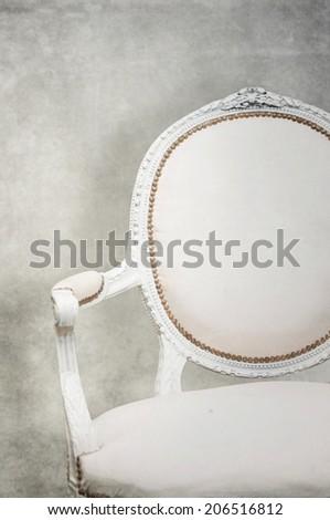 White chair - stock photo