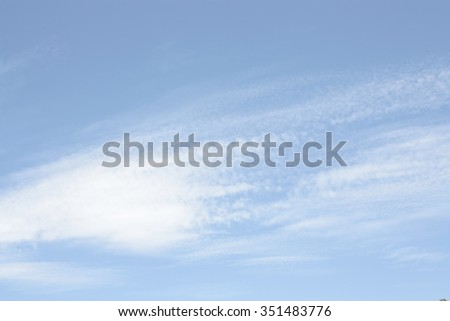 white clouds on blue sky abstract background - stock photo