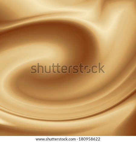 white coffee background, cream or chocolate and milk swirl background - stock photo