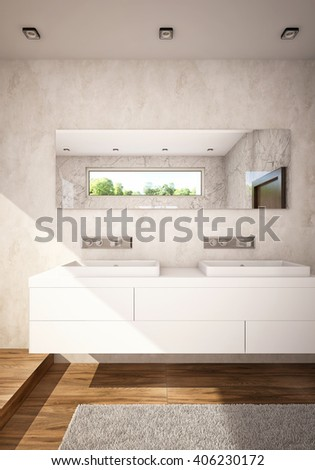 double sink bath rug, Home design