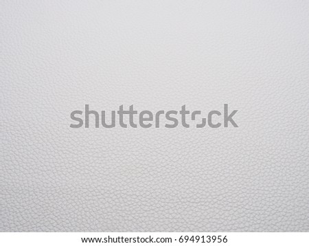 White Color Leather Fabric Pattern