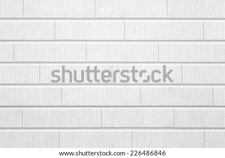 white concrete brick wall texture and background   - stock photo