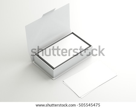 white contact business cards open white stock illustration 505545475 shutterstock. Black Bedroom Furniture Sets. Home Design Ideas
