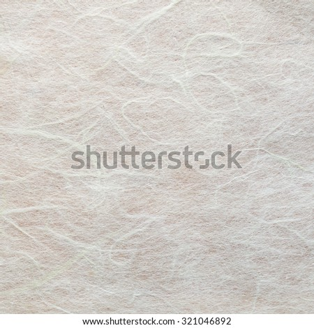 white Craft eco textured paper sheet. Handmade paper texture(Sa Paper) Isolated on white background. - stock photo