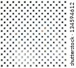 white dotted veil seamless pattern on white background - stock photo