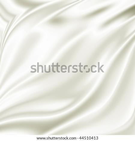 White drapery grunge - stock photo