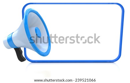 White empty board for advertisement  - stock photo