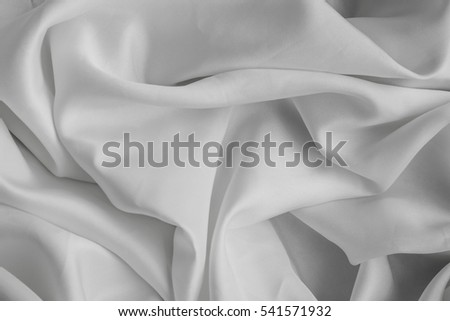 White fabric cloth texture background