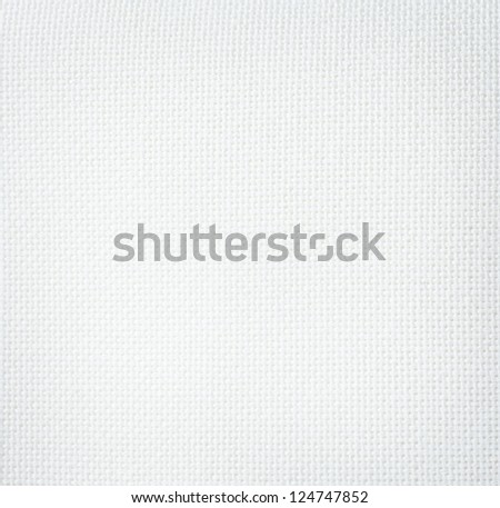 White fabric texture or background - stock photo