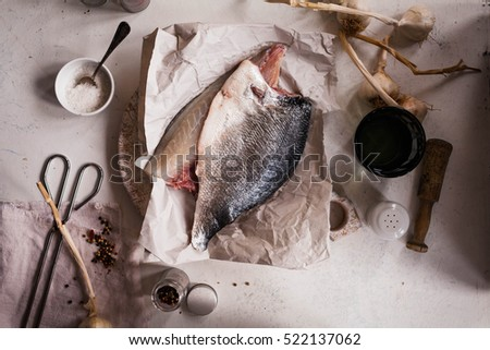Cod fillet stock photos royalty free images vectors for Cooking white fish