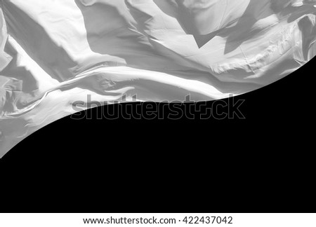 White Flag - stock photo