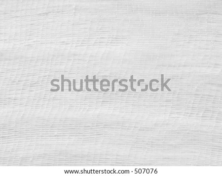 white gauze background - stock photo