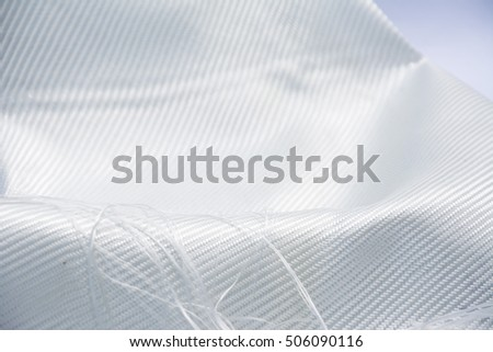white glass fiber composite raw material background