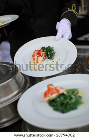 White Glove Service - stock photo