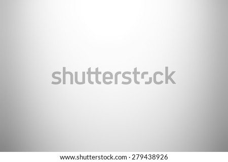 White gray gradient abstract background - stock photo