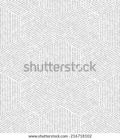 White, gray modern geometric texture. A seamless  background. - stock photo