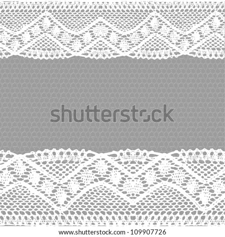 White-grey lace background. Raster.