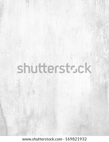 white grunge background wall texture - stock photo