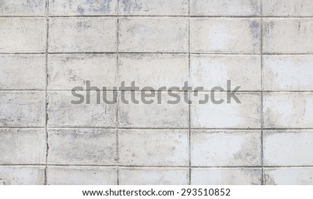 White grunge brick wall background for any design