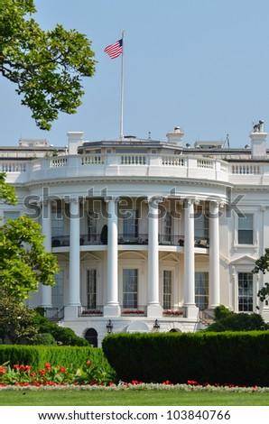 White House - Washington DC - stock photo