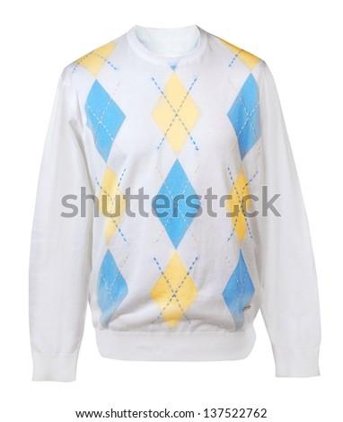 white jacket - stock photo
