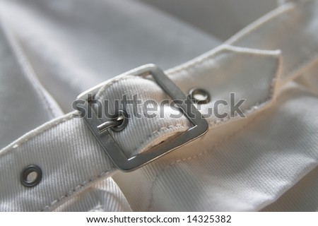 White jacket detail