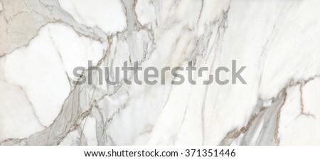White karara Marble Texture - stock photo
