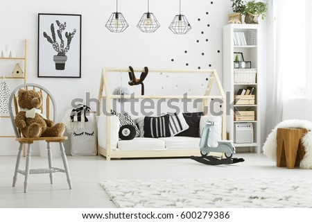 Kids Bedroom House kids bedroom stock images, royalty-free images & vectors
