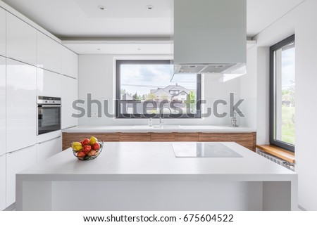 White Kitchen Hood kitchen hood stock images, royalty-free images & vectors