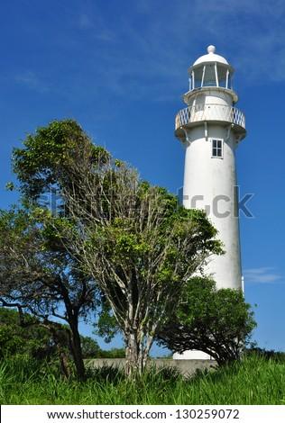 White Light House - stock photo