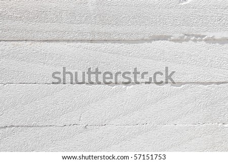 White Light Weight Concrete Brick Pattern