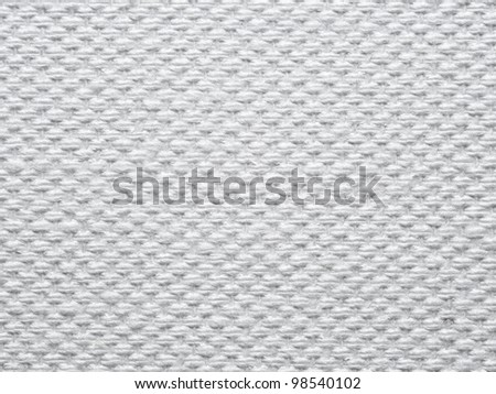 white linen texture for background - stock photo