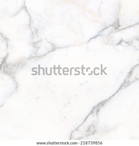 White Marble, Italian Blanco Catedra, Abstract Background Closeup - stock photo