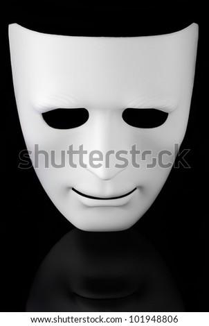 White Mask - stock photo