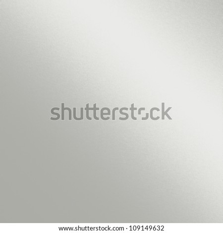 white metal texture with beam of light, smooth chrome background - stock photo